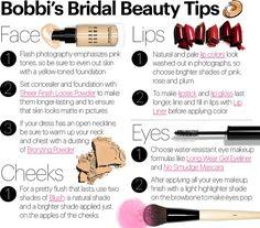 Bobbi Brown Cosmetics :: Bobbi Brown Bridal Boutique :: Bobbi's Bridal Beauty Tips Beauty Tips In Hindi, Beauty Tips For Face, Beauty Hacks, Beauty Care, Bridal Beauty, Wedding Beauty, Wedding Makeup, Bridal Tips, Bridal Makeup