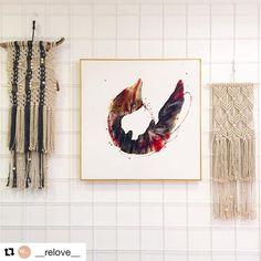 Mixed Media Artwork, Cool Artwork, Moose Art, Walls, Colour, Instagram Posts, Home Decor, Color, Decoration Home