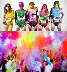 Colour Me Rad! colour race