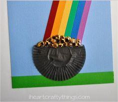 Fun rainbow crafty ideas for kids