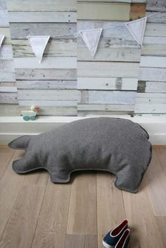 Lazy by Studio Ditte: Pig Cushion
