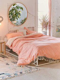Coral: el tono con el que desearás decorar tu dormitorio
