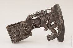 16th Century Italian or German Figural Battle Axe