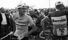 Gösta, Erik och Thomas (Fåglum) klara till start i Malmö.