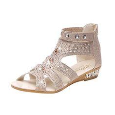 AOJIAN Women Girl Fashion Bow Fish Mouth Transparent Flat Shoes Casual Shoes Sandals