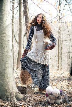 Ravelry: #09 Bobble Tank Dress pattern by Monica Hofstadter