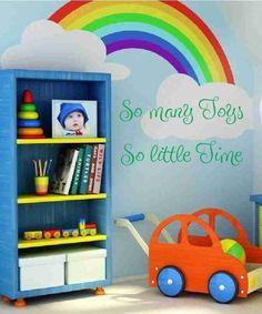 love it w/the rainbow!