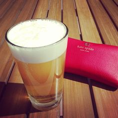 Enjoy the spring with a Stella and some Kate Spade!!