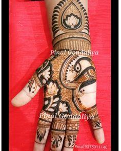 Rajasthani Mehndi Designs, Dulhan Mehndi Designs, Mehndi Designs Finger, Peacock Mehndi Designs, Unique Mehndi Designs, New Bridal Mehndi Designs, Mehndi Designs For Fingers, Mehndi Patterns, Henna Designs