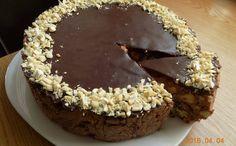 Nekeptas sausainių tortas su kondensuotu pienu ir Rududu