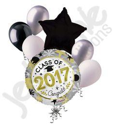 Giant Class of 2017 Graduation Balloon Bouquet