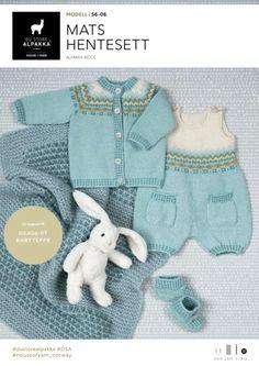 Bilderesultat for mats hentesett Knitting For Kids, Baby Knitting Patterns, Knitting Stitches, Baby Barn, Knitted Baby Clothes, Baby Sweaters, Knitted Blankets, Beautiful Babies, Kids And Parenting