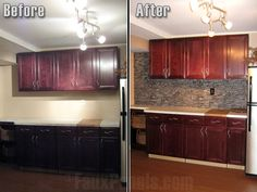 Faux Stone Backsplash Kitchen wainscoting panels | beautiful half wall accent design ideas