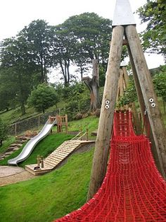 Crow Wood Playscape -Lyme Park. National Trust