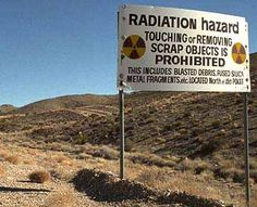 Nellis AFB Bombing Range - Nevada
