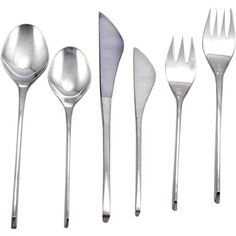 AWARD WINNING International RONALD PEARSON Sterling 1961 Vision Flatware 96pcs   From a unique collection of antique and modern serving pieces at https://www.1stdibs.com/furniture/dining-entertaining/serving-pieces/