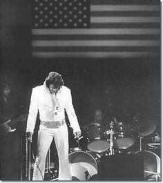 What a shot. The United States flag AND Elvis. Perfect.