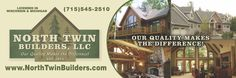 North Twin Builders, LLC, is an ongoing family business that was established in 1971. We are well-known in the Northwoods of Northern Wisconsin and Upper Michigan for building quality and custom homes.  John Volkmann, Sr., started North Twin Builders as an independent building contractor.   Learn More About the Long-standing History of North Twin Builders! - http://www.northtwinbuilders.com/about