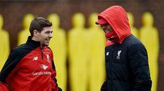 Steven Gerrard e Klopp