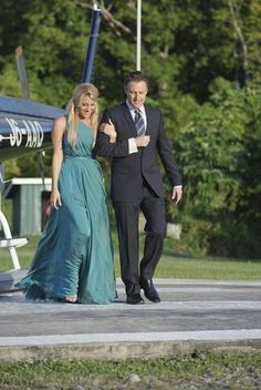 Still of Chris Harrison and Vienna Girardi in The Bachelor