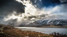 Loch Cluanie. The Highlands, Scotland, United Kingdom - Landscape photography