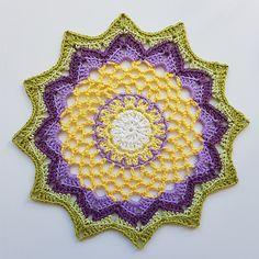 Ravelry: Springflower Mandala pattern by By Mimzan