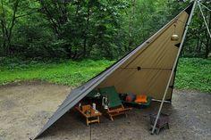 平湯キャンプ場へ出撃│ぶらりソロキャンプの旅
