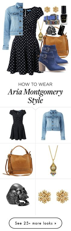 Designer Clothes, Shoes & Bags for Women Polyvore Outfits, Pll Outfits, Tv Show Outfits, Dress Outfits, Cute Outfits, Pretty Little Liars Mode, Pretty Little Liars Outfits, Luci Hale, Aria Montgomery Outfit