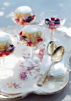 Botrytis Sémillon Charlottes with Berries