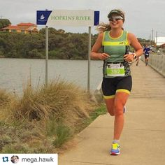 #Repost @mega.hawk  Everything is good for you if it doesn't kill you Tough day in the office tackling Warrnambool Sufferfest after coming down with a cold on Friday - I was all smiles knowing the finish line was just around the corner! Will sleep well tonight! #warrnambool #sufferfesttri #learntosuffer #lovethepain #embracethesuck  by sufferfesttri