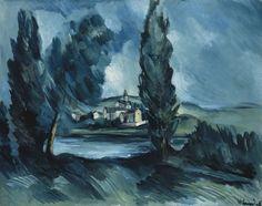 Maurice de Vlaminck (France 1876-1958)Vue de village (c. 1912)oil on canvas 73.1 x 92 cm