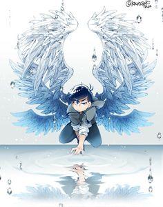 I knew he was an angel. Drawings, Kawaii, Osomatsu San Doujinshi, Anime, Cartoon, Art Wallpaper, Fan Art, Manga, Cartoon Games