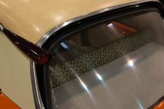"""What a breathtaking design and material mix. Citroen DS19 Luxe with Colour """"Cappuccino"""" and """"Tigre"""" Interior - Original from 1957"""