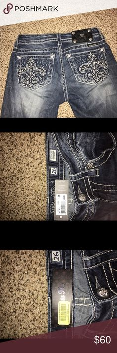 Miss Me Jeans size 26 Worn once to a cowboy themed party, no use to me anymore but they are like new! miss me jeans Pants Skinny