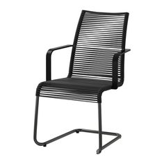 35€ Breite: 54 cm Tiefe: 59 cm Höhe: 92 cm Sitzbreite: 46 cm Sitztiefe: 40 cm Sitzhöhe: 44 cm VÄSMAN Armlehnstuhl/außen - schwarz - IKEA