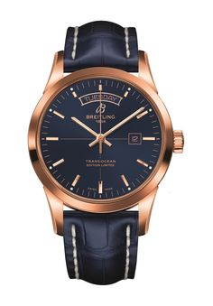iW Magazine's Watch of the Day is the Breitling Transocean Day & Date U.S. Limited Edition