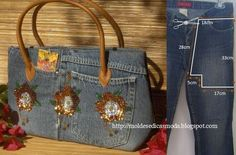 http://www.cortesecostura.com/saco-reciclado-de-jeans/