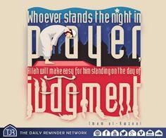 Night prayer.