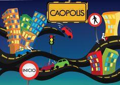 Caopolis! juego para aprender las normas de transito!