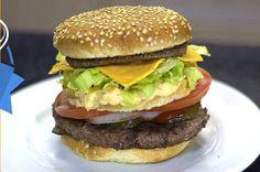 A ação não rolou porque o McDonald's não aceitou, mas o canal Ana Maria Brogui teve a genial ideia de fazer de verdade esse sanduíche!