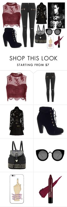 """""""Chris Motionless genderbend CONTEST"""" by lorfanoclan ❤ liked on Polyvore featuring Glamorous, Paige Denim, Burberry, Bamboo and Quay"""