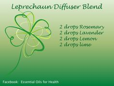 St. Patrick's Day diffuser blend