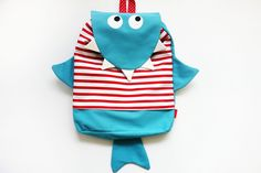 Plecak - Mały Rekin - Maritusan - Plecaki dla dzieci