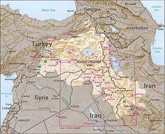 Gli Arcani Supremi (Vox clamantis in deserto - Gothian): Mappe del Kurdistan