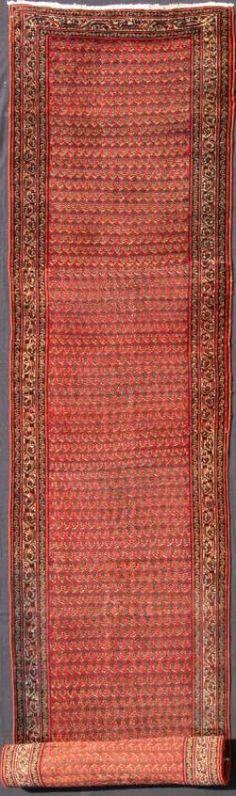 "KEIVAN WOVEN ARTS,   Type :Seraband Origin :Iran  Size : 3'1""x21'3""  Circa :1900"