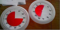 Aus einer günstigen Ikea-Uhr eine Zeitdauer-Uhr zum Visualisieren von Zeitspannen bei Arbeitsphasen basteln :)