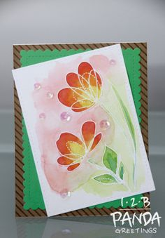 I acquired the Simon Says Stamp (SSS) Spring Flowers stamp set during a sale earlier this year. What can I say about Spring Flowers? You can never have enough floral stamp sets hahaha… This o…