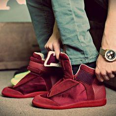 Velvet Margielas #sneakers