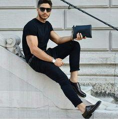 gaudi' black Double Monk Strap, Formal Suits, Gaudi, Italian Style, Black Men, Sporty, Man Men, Pants, Leather