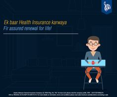 Mr. Neel is most proud about his Liberty Health Connect Policy because it provides assured renewal for life! So cool, isn't it? Check it out here: https://www.libertyvideocon.com/our-products/health-insurance